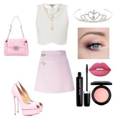 """""""Made by Kaylin for me"""" by music11love ❤ liked on Polyvore featuring Lipsy, Marni, Casadei, Yves Saint Laurent, Chanel, Lime Crime, MAC Cosmetics and Marc Jacobs"""