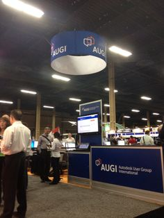 AUGI booth at #AU2014