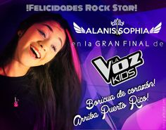 "Alanis Gonzalez has made it into the Final in La Voz Kids and she is one of the favorite to win this awesome competition. After she was saved by the public in the semi-finals she gave everything in the stage with the song ""Everybody Talks"" ."