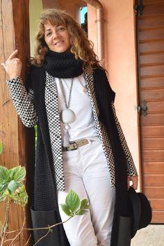 White // black (part two) #livianaconti #madeinitaly #fashion #fashionblog #fashionblogger #blackandwhite #vest