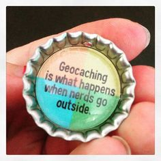 Geocaching... it's true. #IBGCp. Love this... Been geocaching all over big spring and midland ^.^