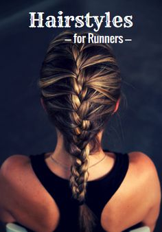 Keep those annoying bangs out of your face with these easy hairstyles for runners (Coiffure Pour Courir) Running Hairstyles, Workout Hairstyles, Cute Hairstyles, Sport Hairstyles, Hairstyles For Working Out, Track Hairstyles, Easy Hairstyles For Work, Athletic Hairstyles, Summer Hairstyles