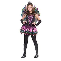 New kids halloween #spider fairy girls fancy dress #costume #childrens party outf,  View more on the LINK: 	http://www.zeppy.io/product/gb/2/291250941113/