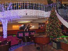 Crystal Atrium on the Norwegian Gem Cruise Ship
