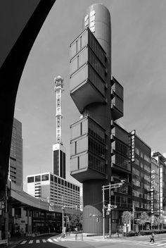 Clássicos da Arquitetura: Centro de Imprensa e Difusão Shizuoka / Kenzo Tange | ArchDaily Brasil