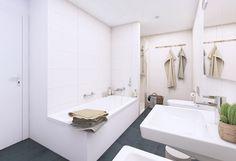 Badezimmervisualisierung Schweiz Wohnhaus