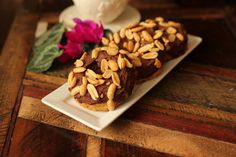 Peanut Butter Cup Donuts: low carb and gluten/dairy free!