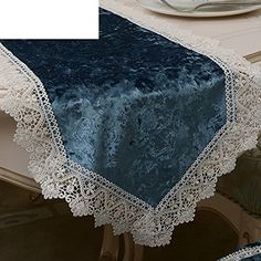 Table Flag European Style Luxury Table Runner Simple Fabrics Lace Coffee Table Cloth Towel Table Runner Bed Runner West Tablecloth-A