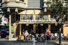 Craft coffee drinkers, urban farmers, and casual bar hoppers characterize Hayes Valley, a fashionable neighborhood in the center of San Francisco. ...