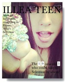 """ILLEA TEEN ( MCKENNA LOUIS TAKES FRONT COVER ) ( THE AMERICA GIRL TWO )"" by mazerunnerloverforever ❤ liked on Polyvore"