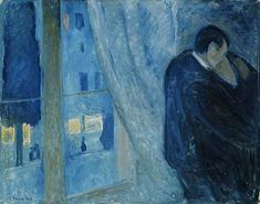 Edvard Munch Kiss By The Window, 1892 Oil Painting Reproductions for sale Edvard Munch, William Adolphe Bouguereau, Gustav Klimt, Fine Art Prints, Canvas Prints, Auguste Rodin, Oil Painting Reproductions, Claude Monet, Art And Architecture