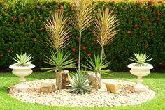Ideia para o jardim lateral esquerdo