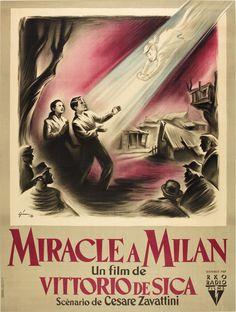 Miracle à Milan / Miracolo a Milano de Vittorio De Sica (1951) (DVD FILATURE)