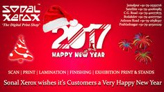 Sonal Xerox Digital Print Services: Sonal Xerox Wishes you a Very Happy 2017