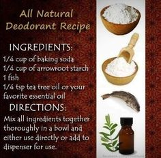 Recipe for All Natural Deodorant... LOLLLL - Summer Love Life Laughs
