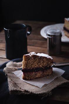 Torta morbida di grano saraceno senza lievito nè burro-3