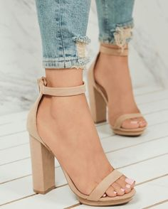 Nice color of high heels Source by heels classy Cute Heels, Lace Up Heels, Pumps Heels, Nude High Heels, Beige Heels, Sandal Heels, Nude Shoes, Ankle Strap Heels, Designer Shoes