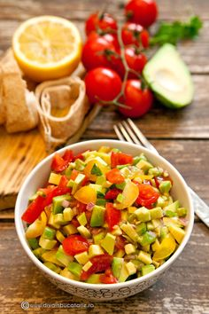 Food Dishes, Side Dishes, Side Dish Recipes, Vegetable Recipes, Guacamole, Cobb Salad, Healthy Recipes, Vegan, Vegetables