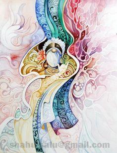Abstract Krishna