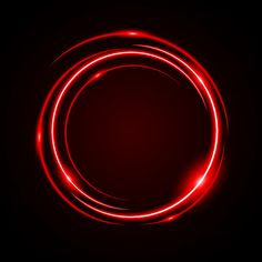 Abstract Circle Light Red Frame Vector Background Vector and PNG Glitter Background, Art Background, Vector Background, Circle Light, Frame Light, Image Avatar, Neon Backgrounds, Frame Template, Dots Design