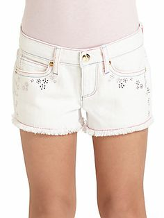 Juicy Couture Little Girl's Embellished Shorts