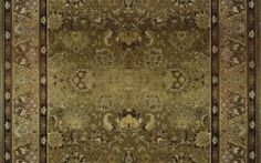 Olive Green Area Rugs Olive Green Area Rug Made From Wool Persian Contemporary Style