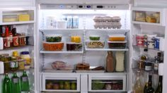 Organizing Your Refrigerator: Helpful tips on how to organize a refrigerator with  food safety in mind.  Featured Product:  KitchenAid® Built-In French Door Bottom-Freezer Refrigerator