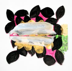 20 Pearls by Richard Tuttle. Medium: acrylic on museum board and archival foam core with brad; Action Painting, Painting & Drawing, Sketchbook Inspiration, Painting Inspiration, Richard Tuttle, Frank Stella, Artwork Pictures, Botanical Art, Contemporary Paintings