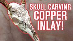 Deer Skull Art, Deer Skulls, Animal Skulls, Deer Antler Crafts, Antler Art, Painted Skulls, Skull Crafts, Buffalo Skull, Skull Painting