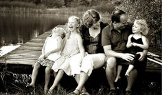 Excellent family pictures photography-love the dock