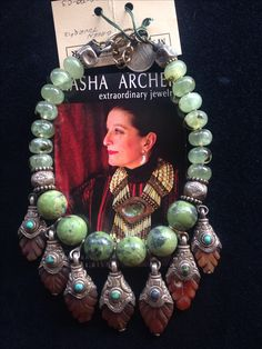 Masha Archer wearable art.