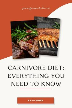 The carnivore diet is centered around some of the healthiest, tastiest, most nutritious foods in the world: steaks, animal fats, lamb, butter, beef tallow and liver. Learn how people are improving their health with a meat based approach. #carnivorediet #jennifermichelleco #carnivoreaurelius Protein Diets, No Carb Diets, Drop Weight Fast, Zero Carb Diet, Rheumatoid Arthritis Diet, Meat Diet, Most Nutritious Foods, Healthy Aging, Diets For Beginners