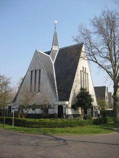Het Witte Kerk in Bergen NH - Hier zijn mijn ouders getrouwd en ben ik gedoopt.