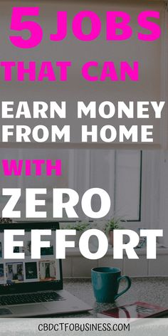 5 legitimate work from home jobs that can earn money from home with zero effort! Earn Money From Home, Make Money Online, How To Make Money, Amazon Work From Home, Work From Home Moms, Online Earning, Online Jobs, Facebook Jobs, Home Websites