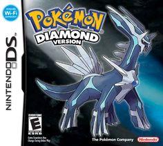 Pokemon Diamond NintendoDS aunque los pokemones no volviero a ser los mismos aun es un titulo que se puede disfrutar