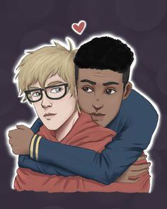 Bram and Simon fanart love,simon Amor Simon, Love Simon, Great Love Stories, Love Story, Lgbt, Simon Spier, Tumblr Gay, Becky Albertalli, Images Harry Potter
