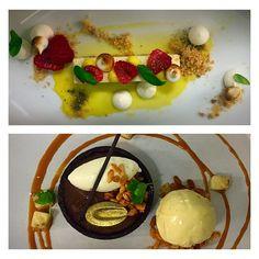 chocolate banana cremeux tart | banana caramel | spiked eggnog ice ...