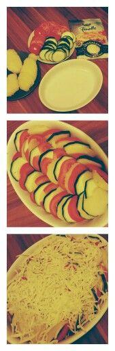 #vorbereitenfürdiearbeit #zucchini #tomaten #kartoffeln #auflauf #sauresahne #basilikum #oregano #käse #lecker #gesund #lowcarb #selfmade #foodporn #ichkannkochenbitch