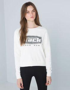 Bershka Ukraine - Bershka sports sweatshirt