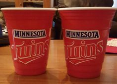 Vinyl MN twins solo cups