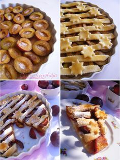 Barbi konyhája: Szilvás gombóc pitébe álmodva Biscotti, Waffles, Cereal, Breakfast, Sweet, Food, Kitchen, Baking Center, Cooking