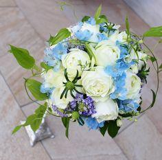 #novarese#vressetrose #Wedding #blue #purple #Bouquet #natural #Flower #Bridal #ノバレーゼ#ブレスエットロゼ#ウエディング #クラッチブーケ#ブルー#水色# ブーケ #ラウンドブーケ#結婚式#バラ#デルフィニウム