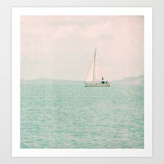 Buy white ship by Claudia Drossert as a high quality Art Print. Worldwide shipping available at Society6.com. Just one of millions of products available.