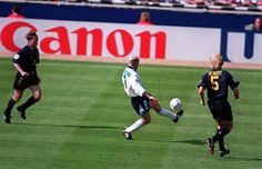 Gazza setting up the goal that made me fall in love with football