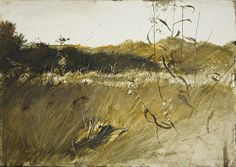 Andrew Wyeth, Above the Orchard