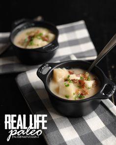 Baked Potato Soup from Real Life Paleo by Paleo Parents
