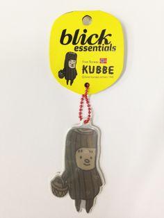 KUBBE リフレクトキーホルダー キュッパ(A)