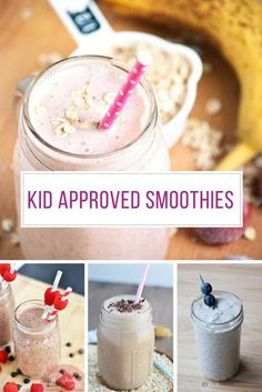 Got a Kid that Won't Eat Fruit? These Smoothies for Kids Will Fix That!
