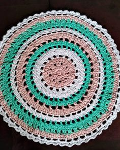100 cm ;) #carpet #tshirtyarncarpet #tshirtyarn #kottoon #yarnporn #crochet #crocheting #szydełko #szydełkowanie #handmadeinpoland #handmadedecor #floordecor #dywan #byhand #craftart #craft #rekodzieło #recznarobota #cutething #yarn #handmade #polskierekodzielo  #karolahandmade #crochetxxl #moderncrochet #inprogress #crochetstitch #szydełkowelove #crochetaddict #yarnaddict
