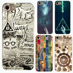 14a468e960b Coque For Iphone 7 Case Harry Potter Fundas Hard Transparent PC Phone Cover  Case For iPhone plus 5 SE Capinhas